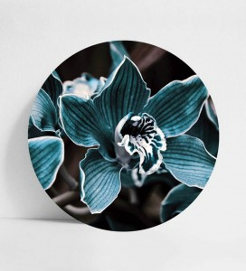 DECO PANEL | BLUE FLOWER